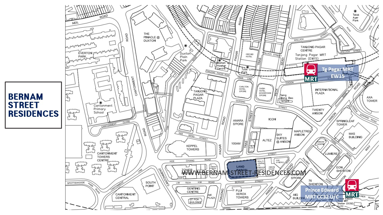 Bernam-street-residences-Singapore-location-map